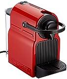 Krups XN1005 Nespresso Inissia - cafetera monodosi de càpsules Nespresso, 19 bars, apagat automàtic, Color Vermell